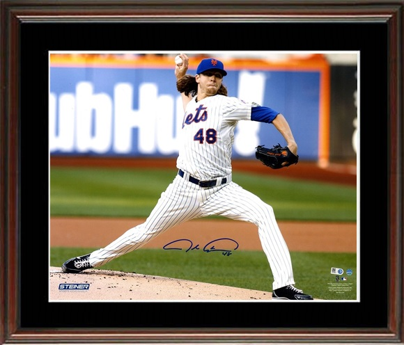 Jacob DeGrom Autograph Sports Memorabilia from Sports Memorabilia On Main Street, sportsonmainstreet.com