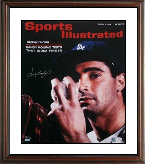 Sandy Koufax Autograph Sports Memorabilia from Sports Memorabilia On Main Street, sportsonmainstreet.com