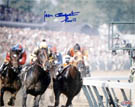 Jean Cruguet Seattle Slew Autograph Sports Memorabilia On Main Street, Click Image for More Info!